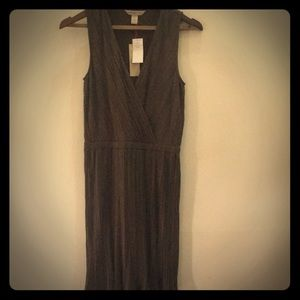 Heritage Collection Brown Pleated dress